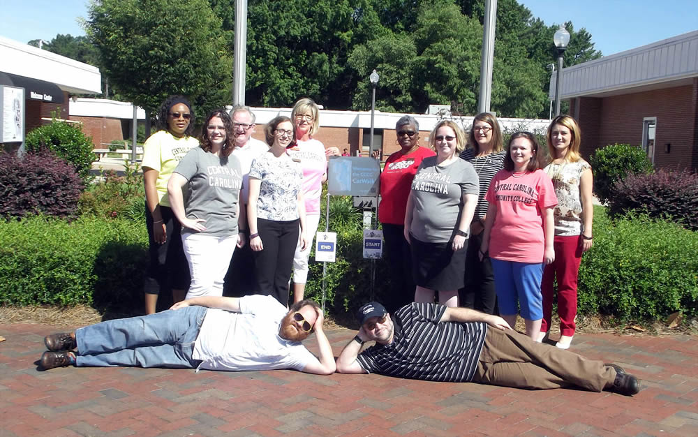 NC State Health Plan's Miles for Wellness walking challenge