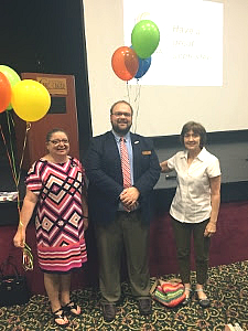 Excellence in Advising Winners: Holly Schofield and Pam Riddle