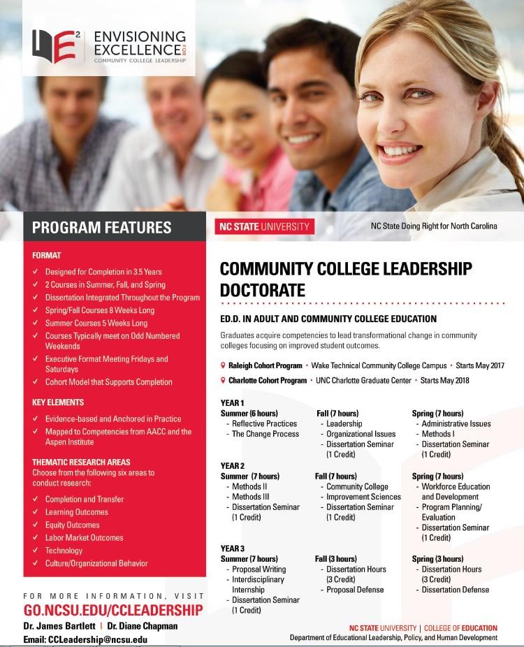 Ed. D CC Leadership