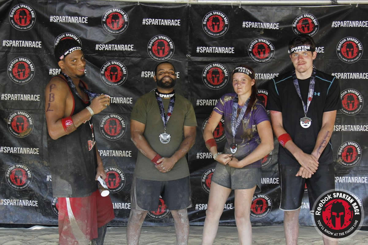 Spartan Race at Fort Bragg