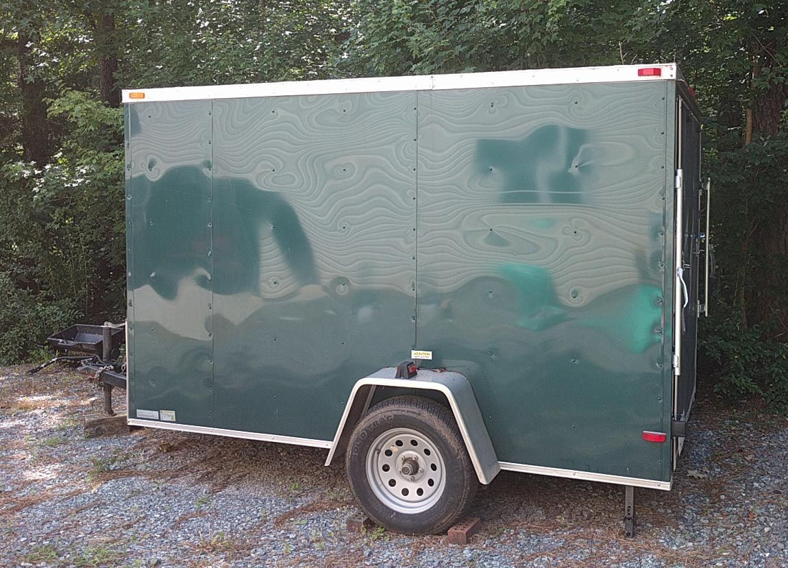 Box Trailer with Extra's