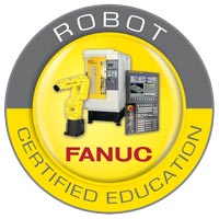FANUC Robot Certified Education Logo