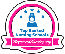 2017 Top Ranked RN Program Badge