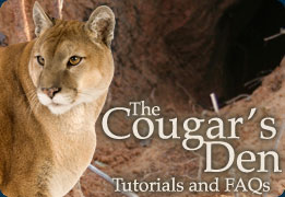 Cougar's Den: Tutorials and FAQs