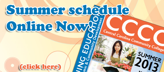Summer Schedule - Online Now