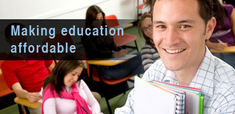 Making education affordable