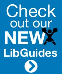 Check out our new LibGuides