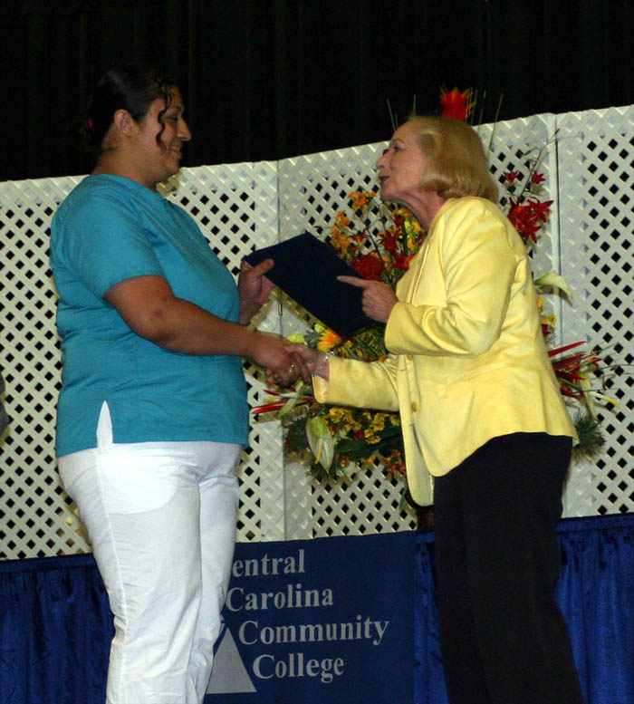 Click to enlarge CCCC holds Con Ed medical graduation
