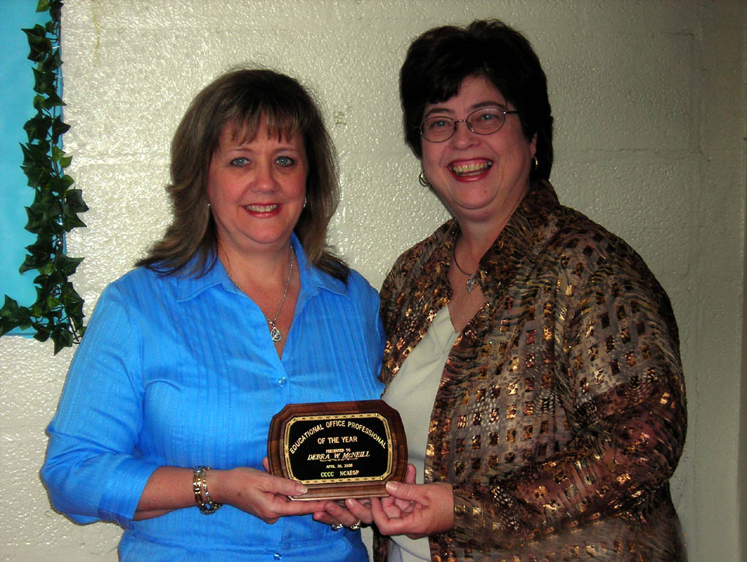 McNeill chosen as CCCC Educational Office Professional of the Year