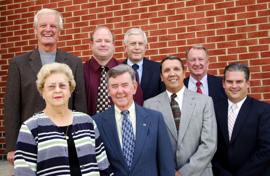 Click to enlarge CCCC Foundation Board of Directors elects 2008-09 officers