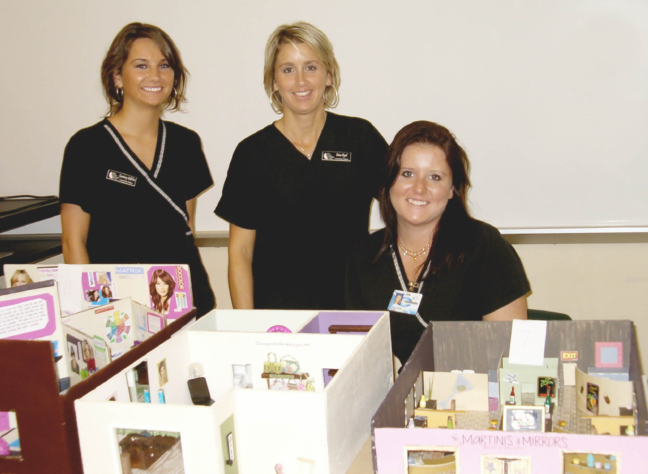 Cosmetology students design winning salons