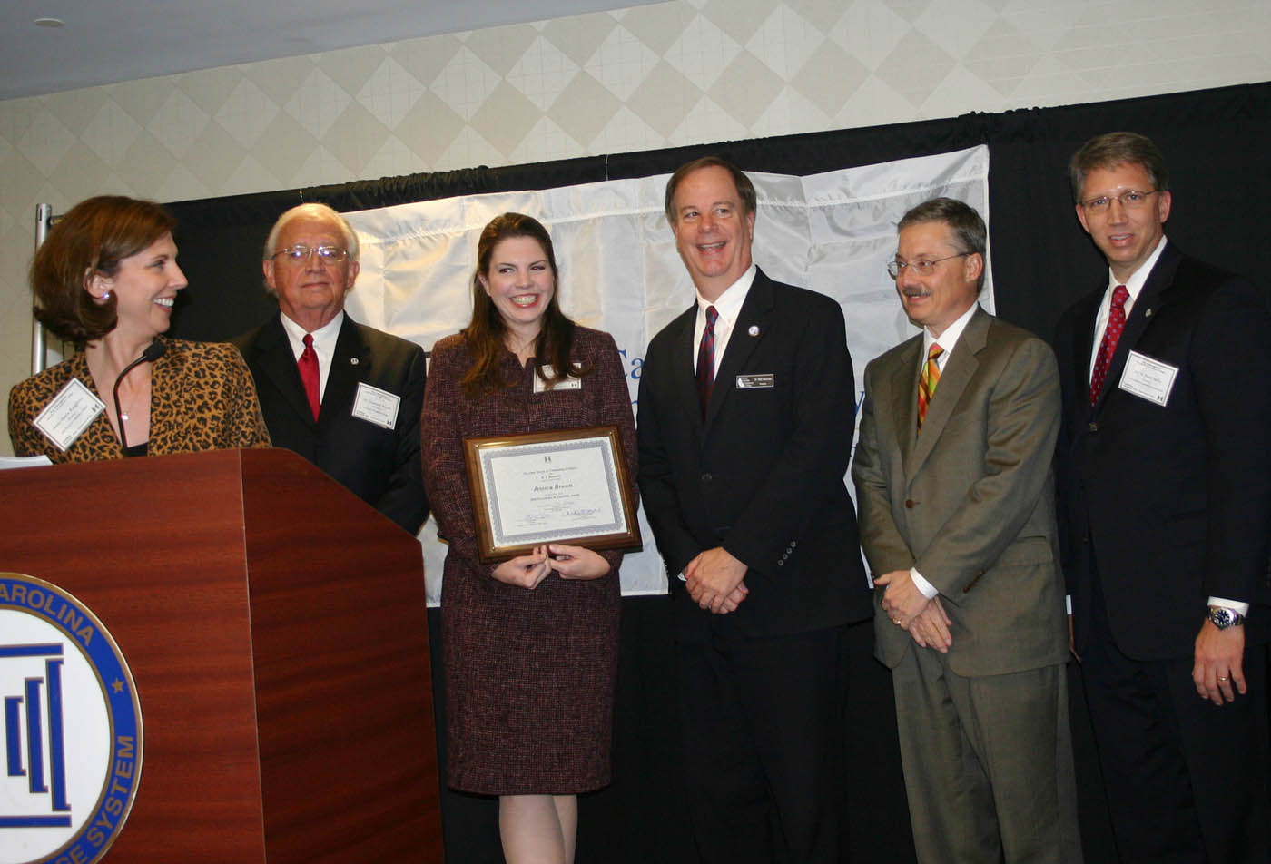 CCCC�s Brown is NCCCS 2008 Teacher of Excellence