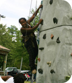 Hitting the heights at CCCC Harnett�s SGA Activity Day