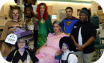 CCCC Cosmetology students give clients a treat on Halloween