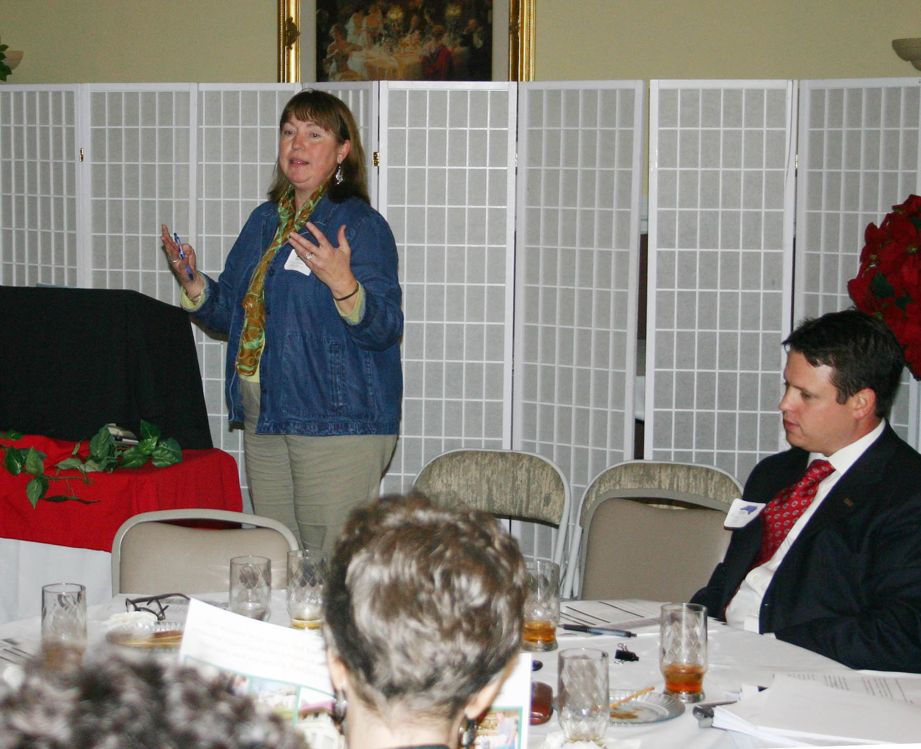 Click to enlarge State-local seminar offers advice to small businesses