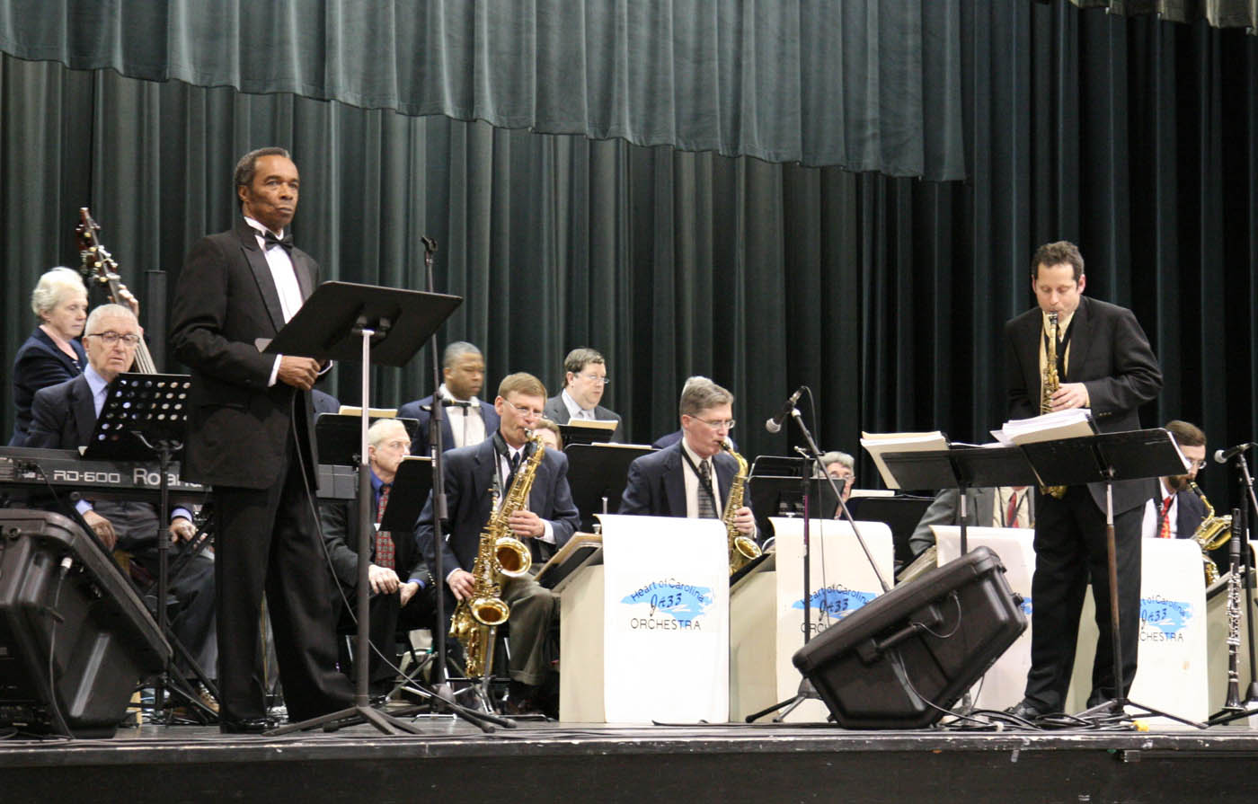 Click to enlarge Central Carolina C.C. hosts Heart of Carolina Jazz concert