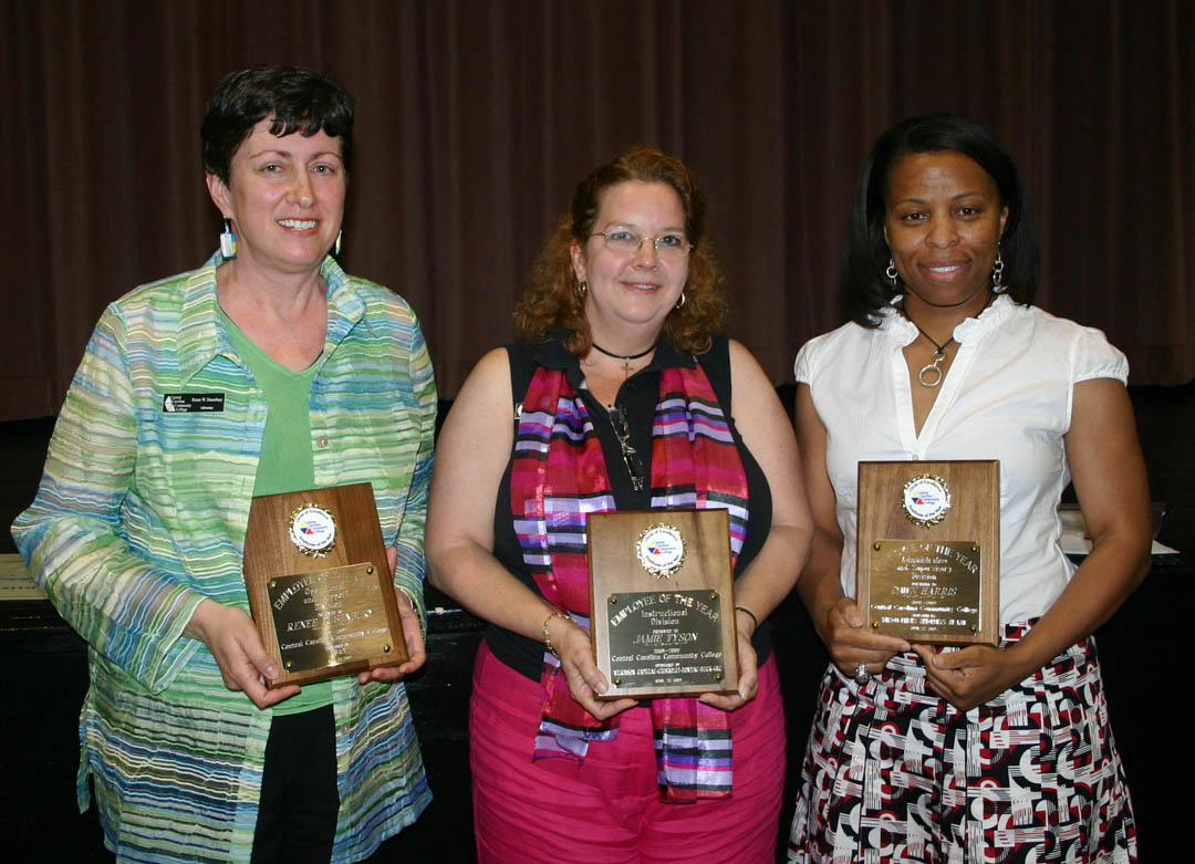 Read the full story, CCCC honors employees