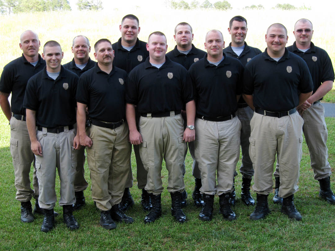 Click to enlarge Central Carolina BLET cadets graduate
