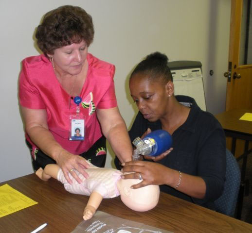 Basic Skills students discover new career paths at Central Carolina Hospital