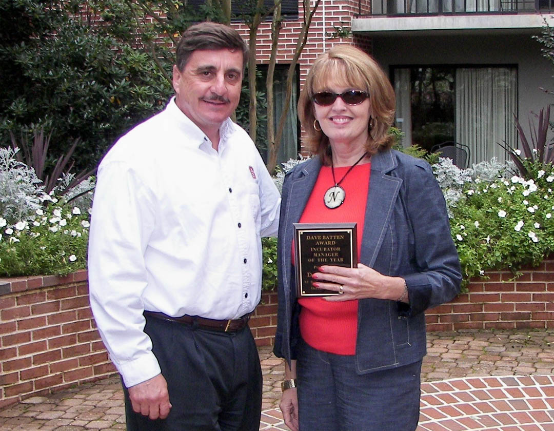 CCCC�s Blackman honored as NCBIA Incubator Manager of the Year