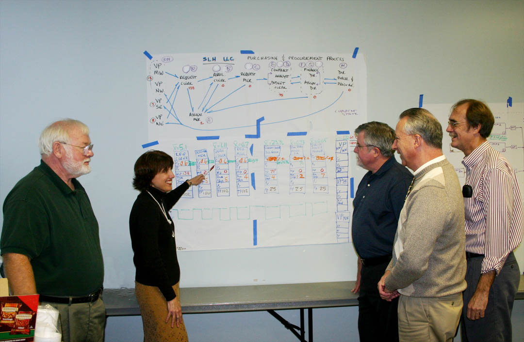 Click to enlarge CCCC trains Lean Six Sigma instructors