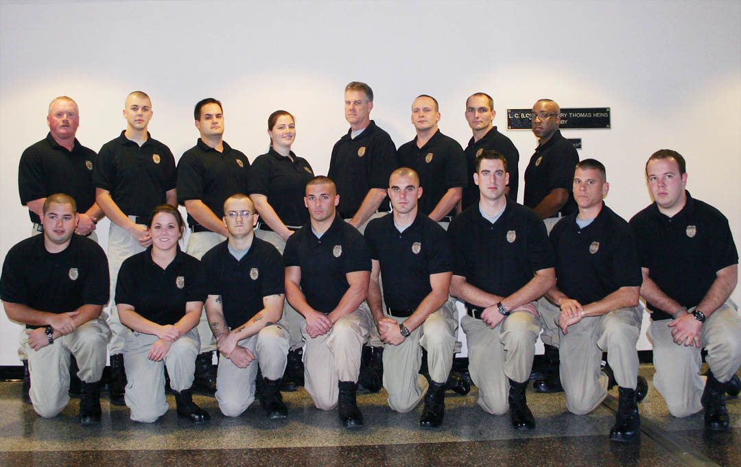 Click to enlarge CCCC Basic Law Enforcement graduates 16