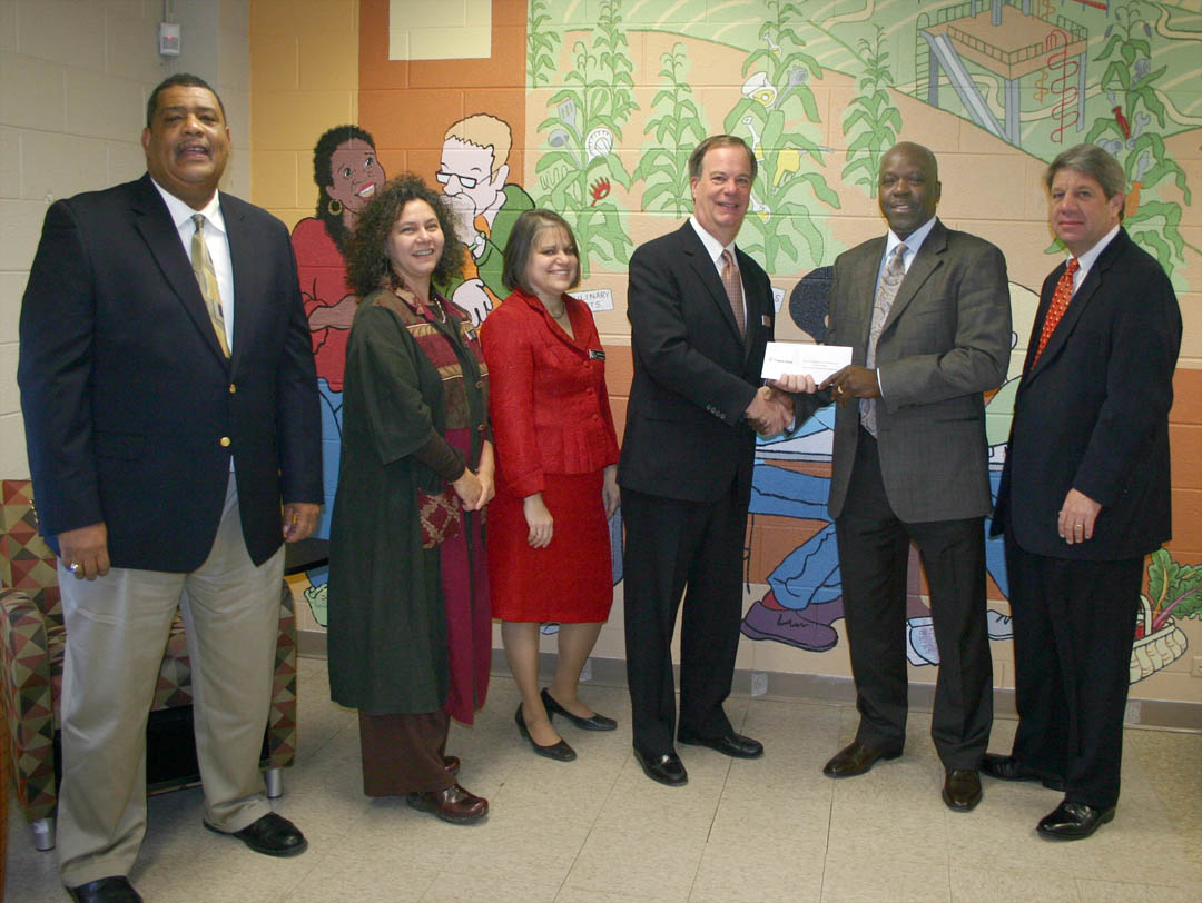 Click to enlarge Progress Energy presents $30,000 grant to CCCC