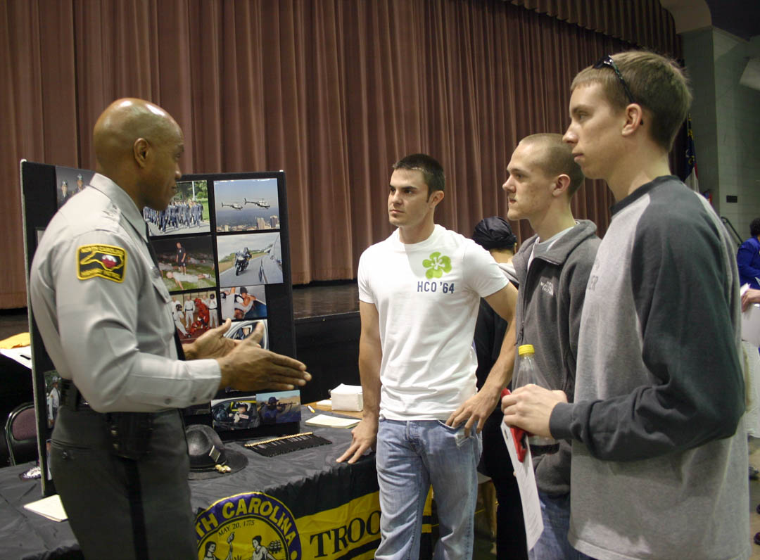 Click to enlarge CCCC Career Fair a big success
