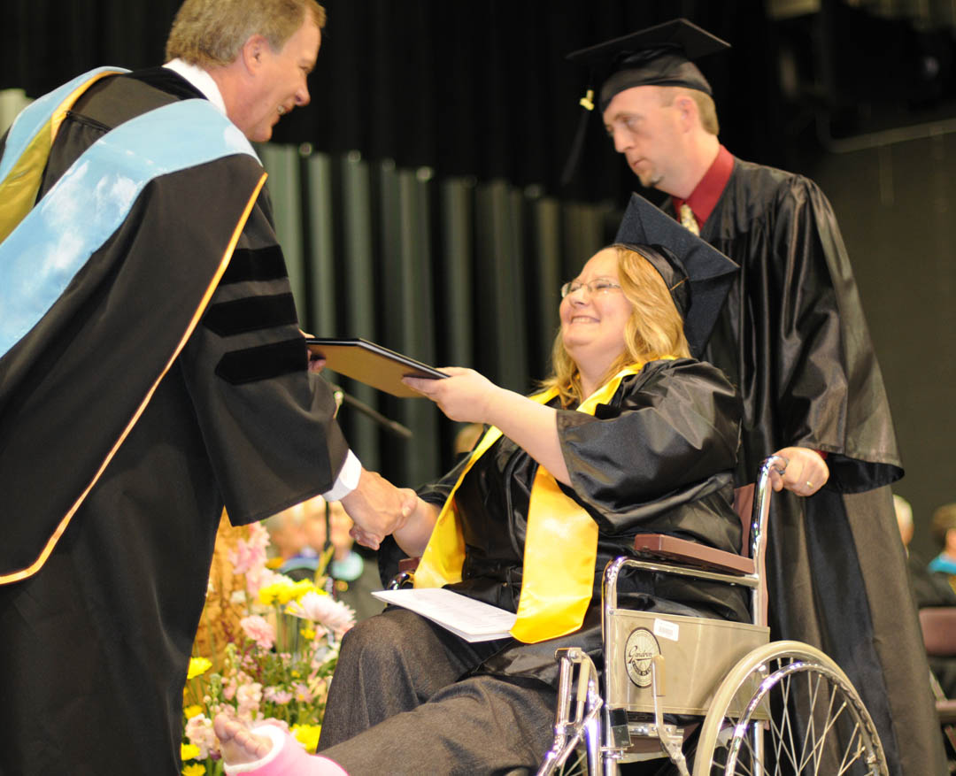 Read the full story, CCCC celebrates 2010 spring graduation
