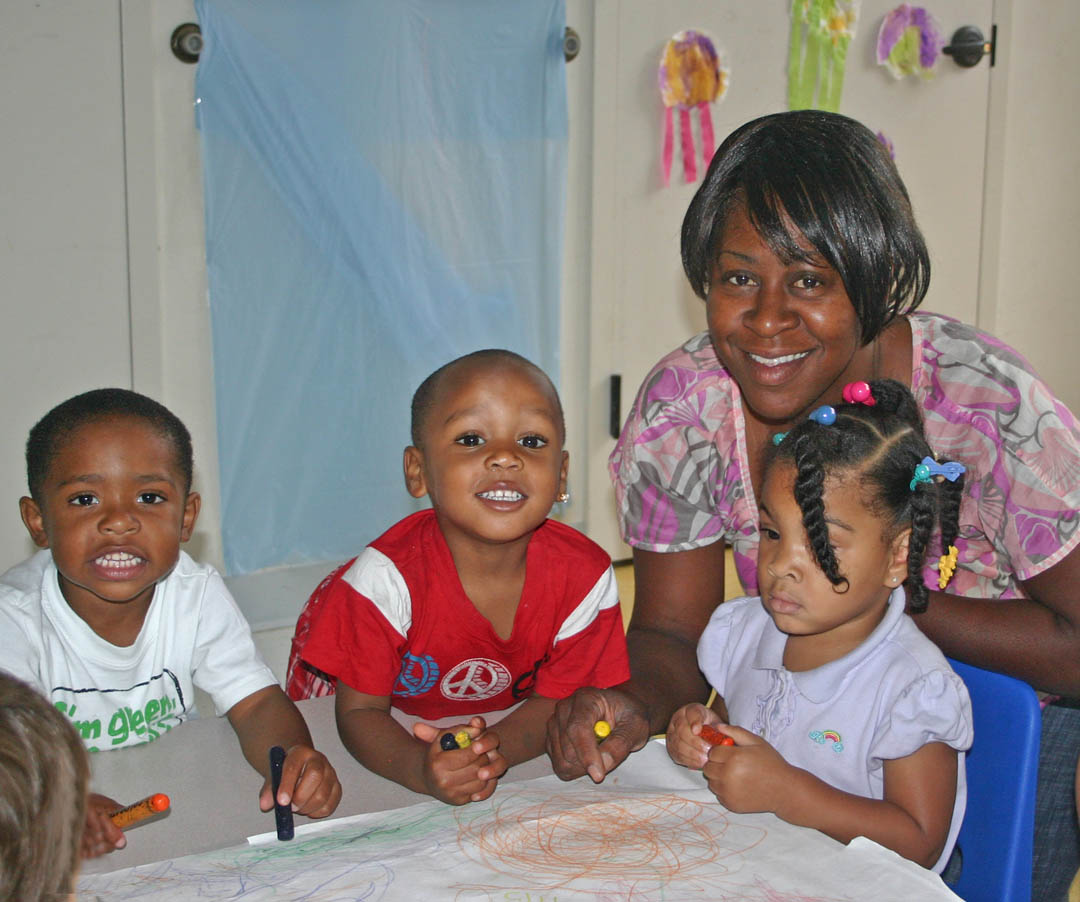 Child-care center fulfills founder�s dream