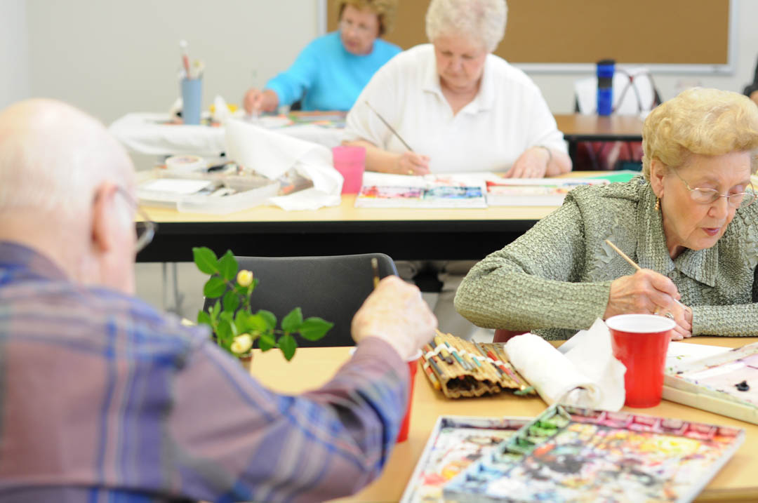 Click to enlarge CCCC launches Center for Creative Retirement