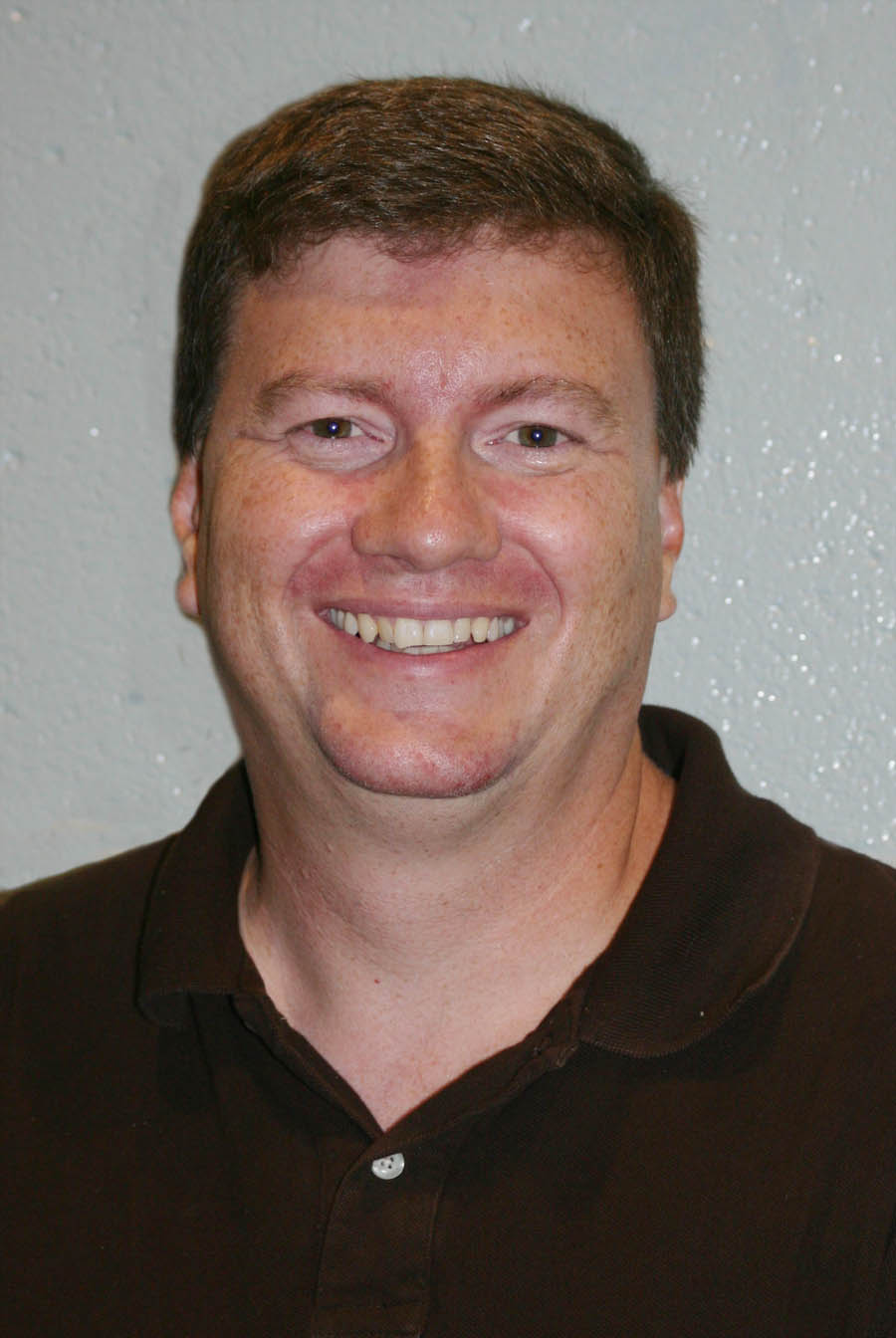 Click to enlarge,  Scott Byington, of Apex, is the new chair of the Math and Science Department