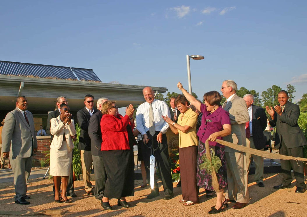 Read the full story, CCCC, Chatham celebrate new green buildings