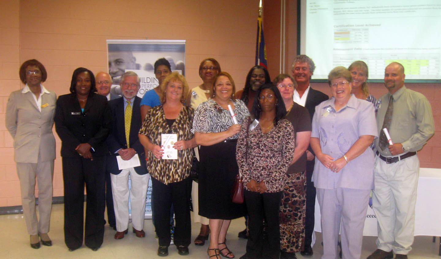 CCCC-Harnett awards N.C. Career Readiness certificates