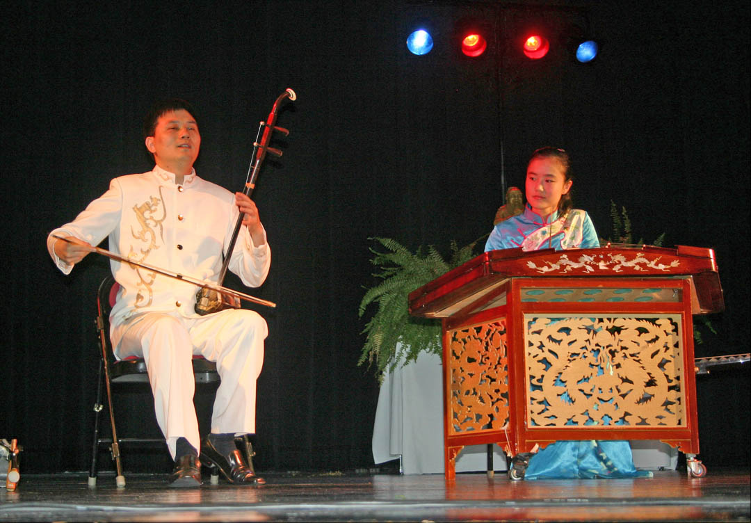 Chinese concert wows audience