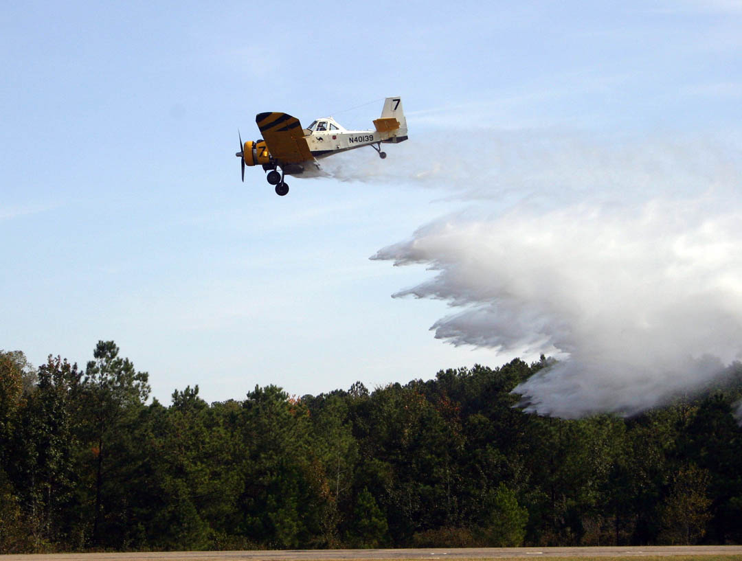 Forest Service flies high over CCCC Emergency Services Training Center