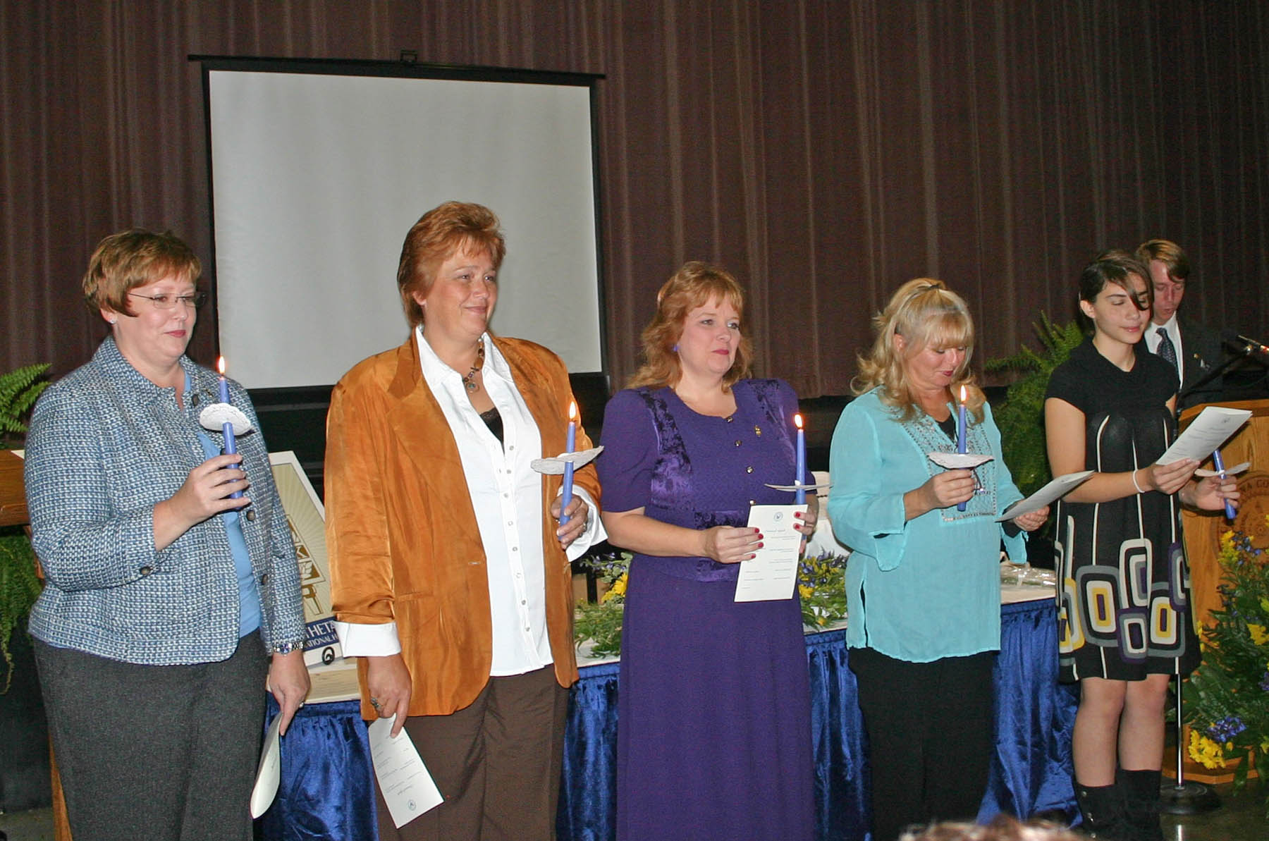 Click to enlarge Phi Theta Kappa chapter chartered at CCCC