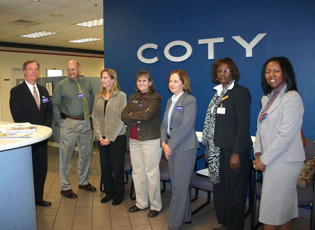 Click to enlarge Coty-CCCC partner for major training program