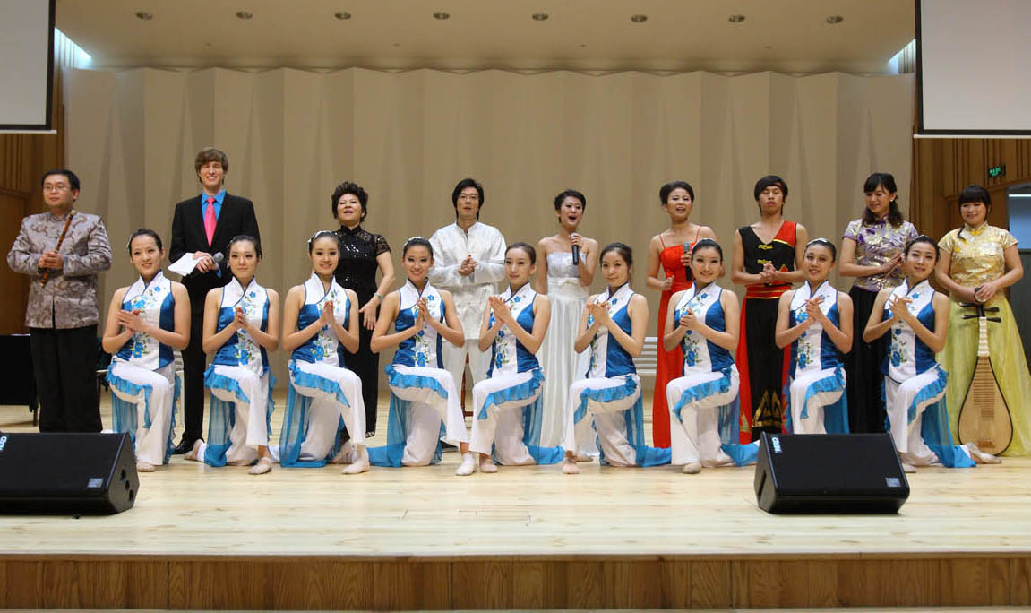 Read the full story, Xiamen University Art Troupe performs
