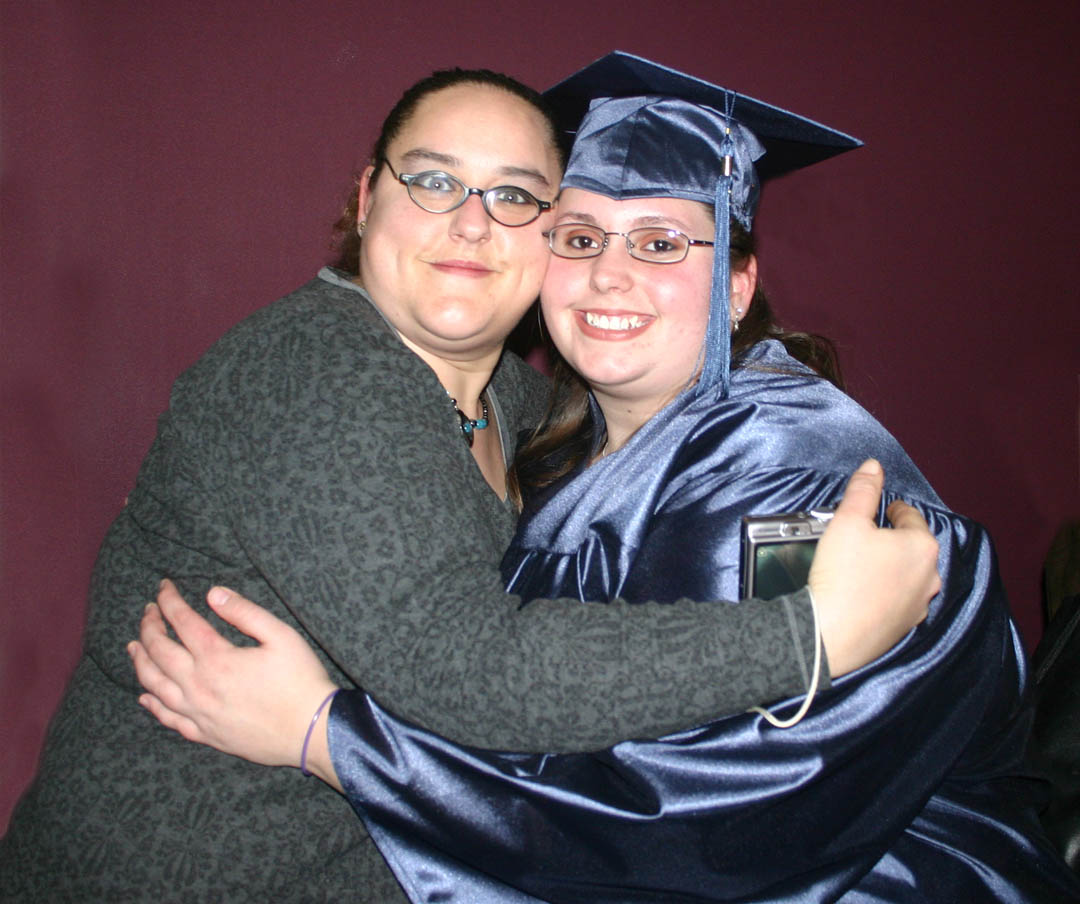 Click to enlarge CCCC Adult Ed students celebrate graduation