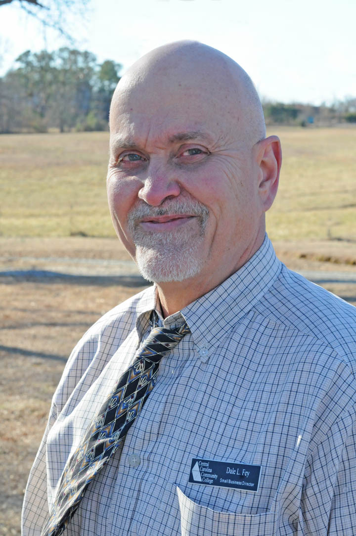 Click to enlarge  Dale Fey is new CCCC Small Business Center director