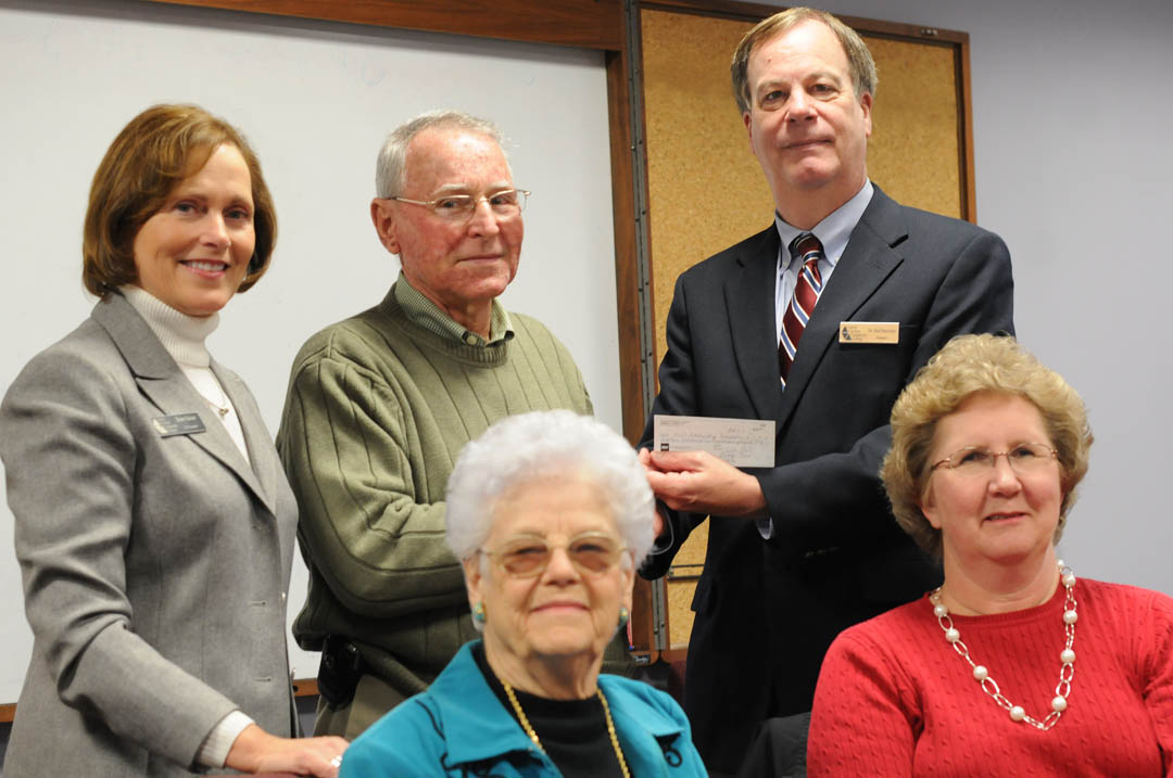 Goldston Medical Center Board endows CCCC nursing scholarship