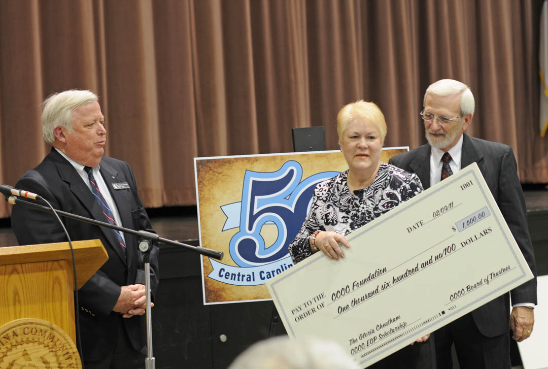 Cheatham Scholarship endowed at CCCC