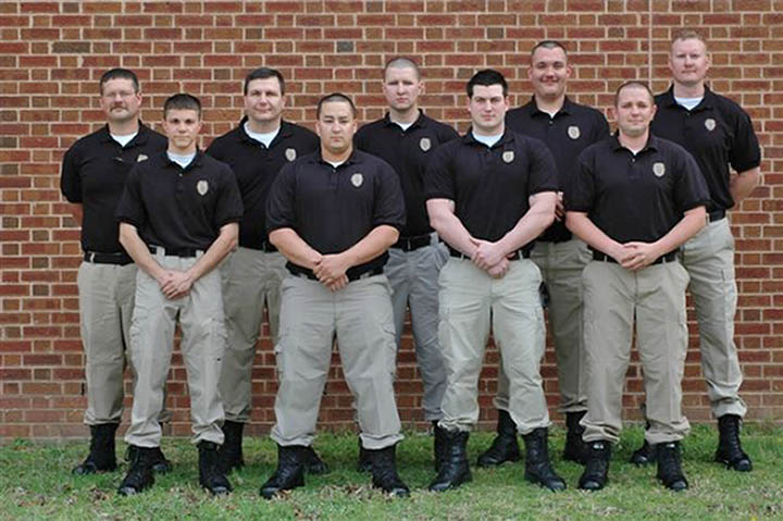 Harnett graduates nine in basic law enforcement