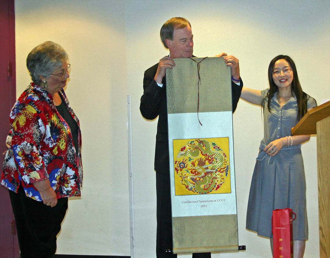 Read the full story, First CCCC Confucius Classroom instructor says goodbye