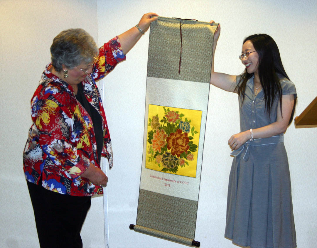 First CCCC Confucius Classroom instructor says goodbye