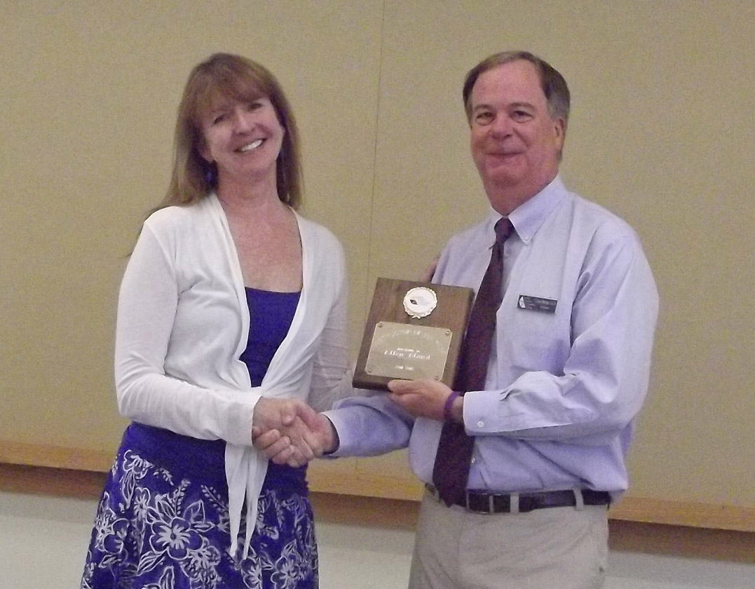 Click to enlarge CCCC honors instructor, staff person of year