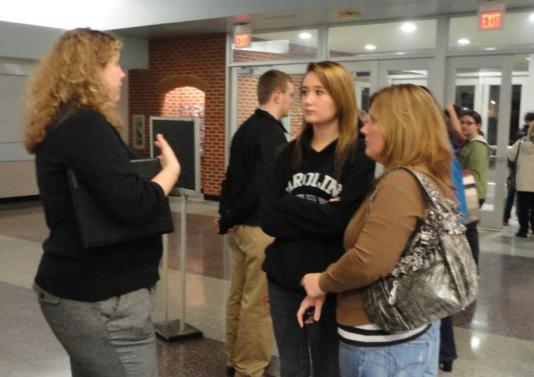 Lee Early College Parent Information Night attracts more than 100