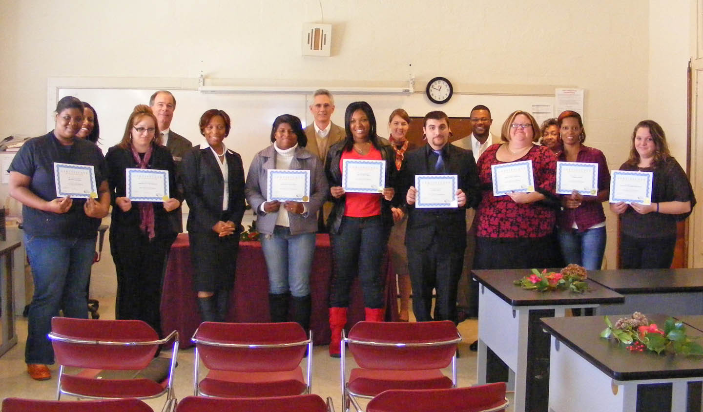 CCCC recognizes first Basic Skills Plus participants