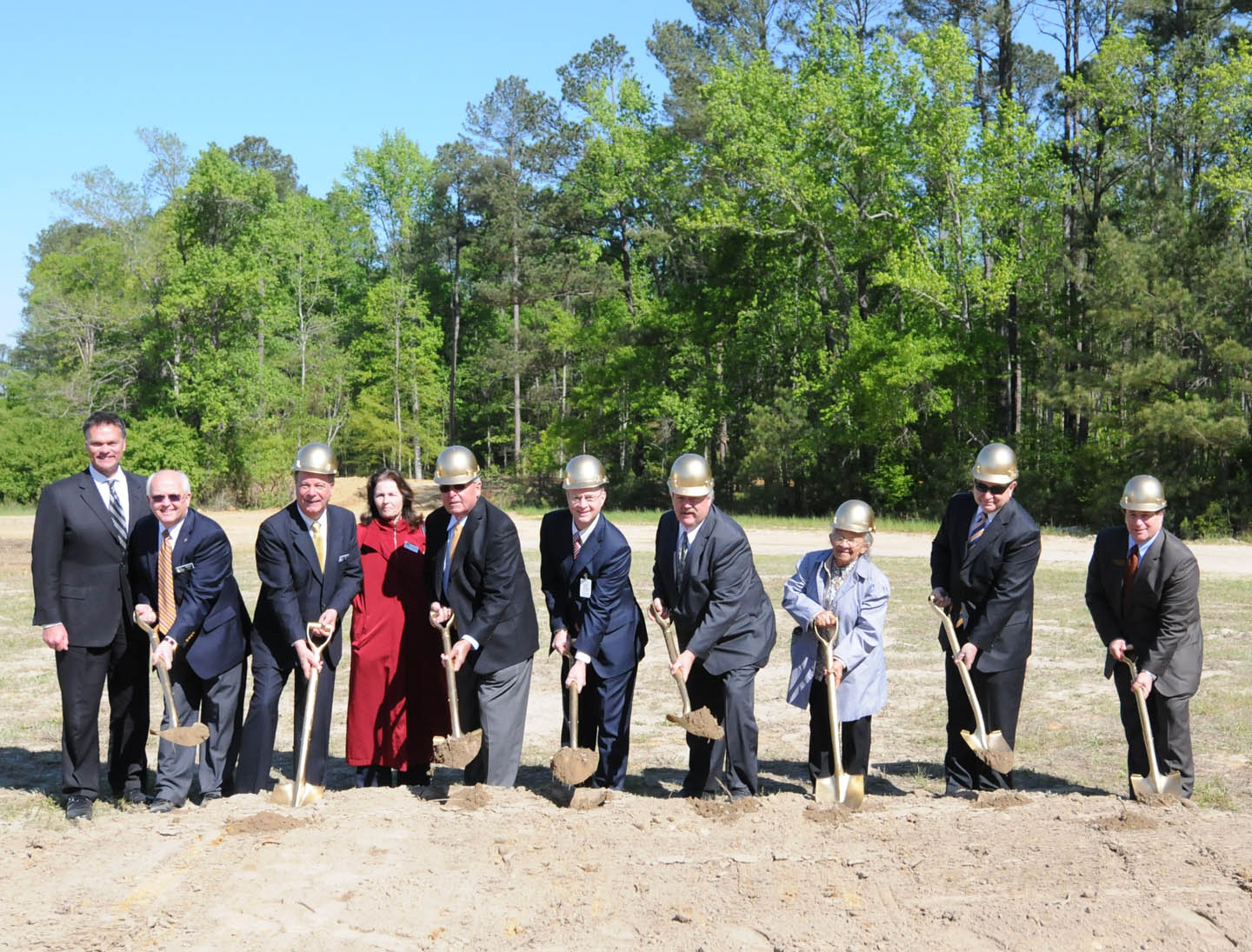 CCCC, Harnett break ground for new Health Sciences Building